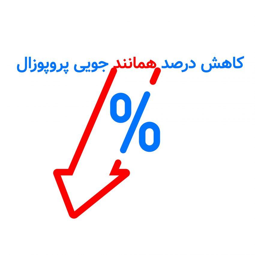 کاهش درصد همانندجویی پروپوزال